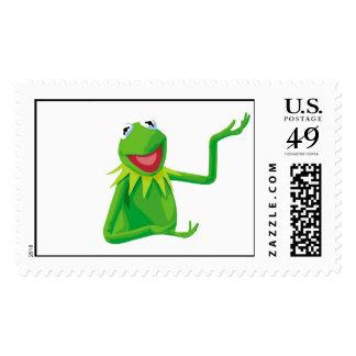 Kermit la rana con su boca Disney abierto Timbre Postal