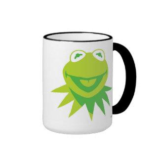Kermit la rana Disney sonriente Taza A Dos Colores
