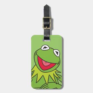 Kermit la rana etiqueta de maleta