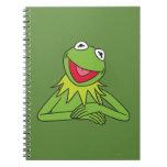Kermit la rana libro de apuntes