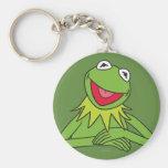 Kermit la rana llavero redondo tipo pin