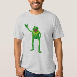 Kermit la rana que agita su mano Disney Polera