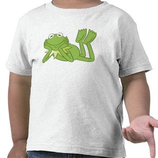 Kermit la rana que miente abajo Disney Camisetas
