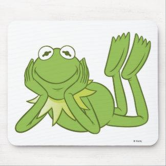 Kermit la rana que miente abajo Disney Tapetes De Raton