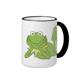 Kermit la rana que miente abajo Disney Taza De Dos Colores