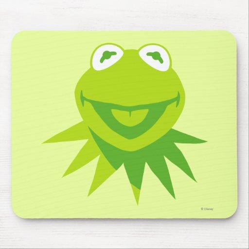 Kermit la sonrisa de la rana alfombrilla de ratón