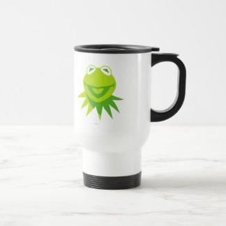 Kermit la sonrisa de la rana taza
