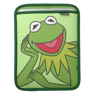 Kermit Laying Down iPad Sleeve