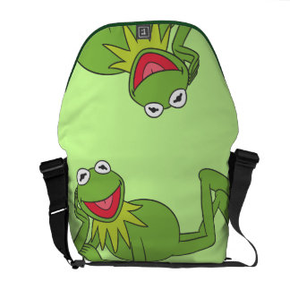 Kermit Laying Down Courier Bag