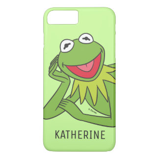 Kermit Laying Down | Your Name iPhone 8 Plus/7 Plus Case