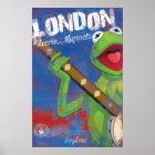 Kermit - London, England Poster