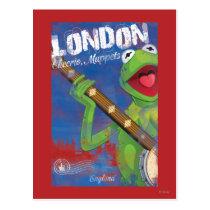 Kermit - London, England Poster Postcard