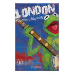 Kermit - London, England Poster Posters
