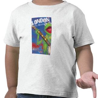 Kermit - London, England Poster Tee Shirt