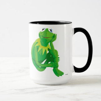 Kermit los ojos encantadores Disney de la rana