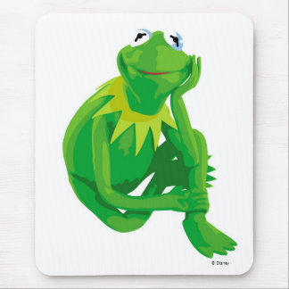 Kermit los ojos encantadores Disney de la rana Mouse Pad