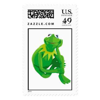 Kermit los ojos encantadores Disney de la rana Franqueo