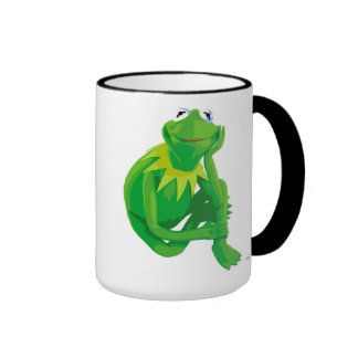 Kermit los ojos encantadores Disney de la rana Taza De Dos Colores