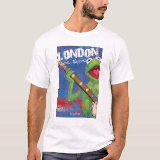 Kermit - poster de Londres, Inglaterra Playera