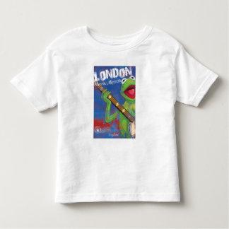 Kermit - poster de Londres, Inglaterra Playera De Bebé