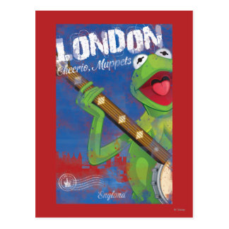 Kermit - poster de Londres, Inglaterra Tarjeta Postal