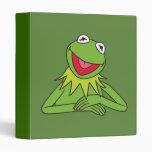 Kermit the Frog 3 Ring Binders