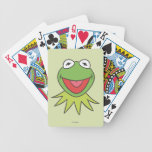 Kermit the Frog Cartoon Head Bicycle Playing Cards