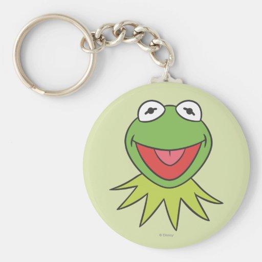 Kermit the Frog Cartoon Head Keychains