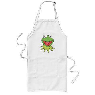 Kermit the Frog Cartoon Head Long Apron