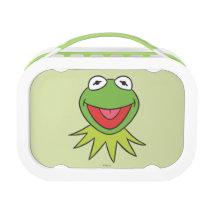 Kermit the Frog Cartoon Head Lunch Box