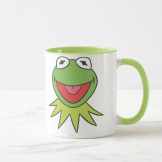 Kermit the Frog Cartoon Head Mug