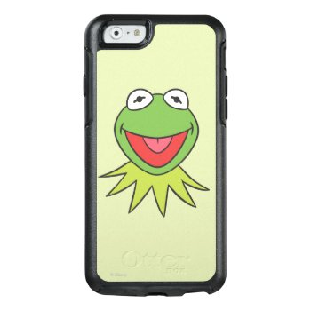 Kermit The Frog Cartoon Head Otterbox Iphone 6/6s Case by disney at Zazzle