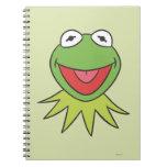 Kermit the Frog Cartoon Head Spiral Note Book