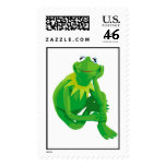 Kermit the Frog Charming Eyes Disney Postage Stamp