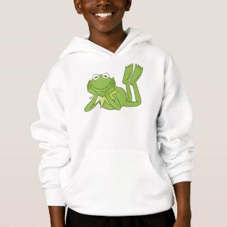 Kermit the Frog lying down Disney Hoodie