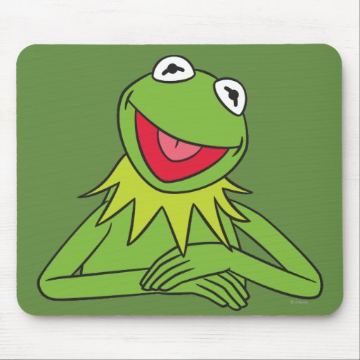 Kermit the Frog Mouse Pads