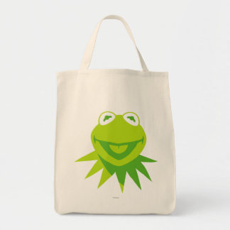 Kermit the Frog Smiling Canvas Bag