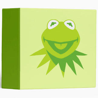 Kermit the Frog Smiling Binder