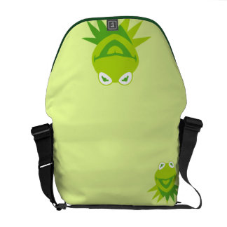 Kermit the Frog Smiling Courier Bags