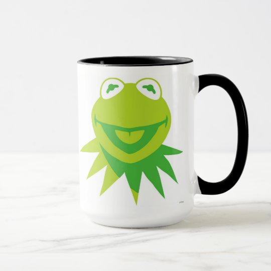 Kermit The Frog Smiling Disney Mug