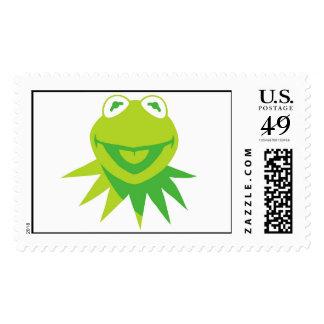 Kermit The Frog Smiling Disney Postage Stamp