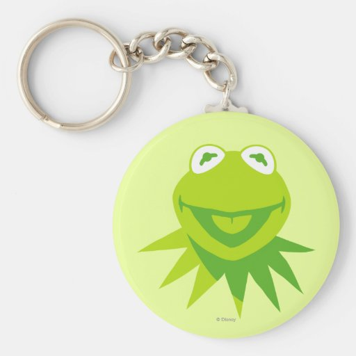Kermit the Frog Smiling Key Chain
