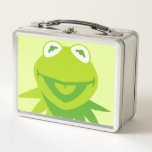 """Kermit the Frog Smiling Metal Lunch Box<br><div class=""""desc"""">The Muppets</div>"""