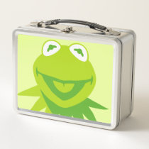 Kermit the Frog Smiling Metal Lunch Box