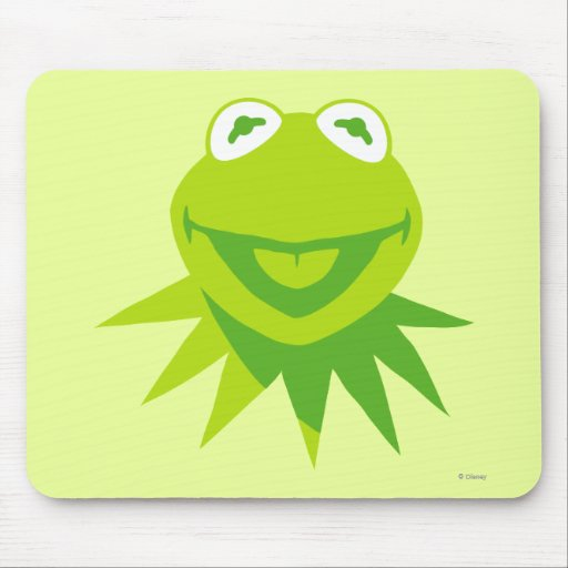 Kermit the Frog Smiling Mouse Pad
