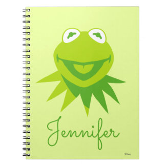 Kermit the Frog Smiling - Personalized Notebook