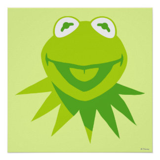 Kermit the Frog Smiling Poster