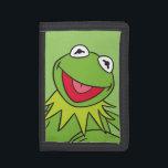 """Kermit the Frog Trifold Wallet<br><div class=""""desc"""">Muppets - Kermit</div>"""