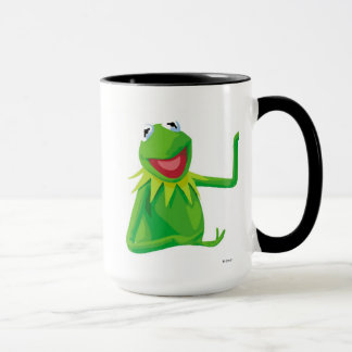 Kermit the Frog with his Mouth Open Disney Mug