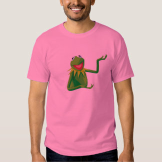 Kermit the Frog with his Mouth Open Disney Tee Shirts